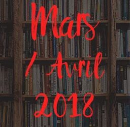 Lectures – Mars Avril 2018