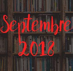 Lectures – Septembre 2018